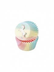 Θήκες cupcake χάρτινες We Love Unicorn 30τεμ.