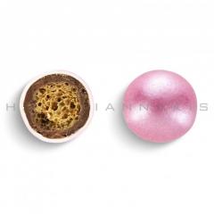 Κουφέτα σοκολάτας Crispy περλέ ροζ 700gr