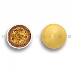 Κουφέτα σοκολάτας Crispy μεταλλιζέ χρυσό 700gr