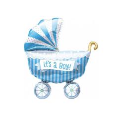 Μπαλόνι φόιλ καροτσάκι It's a Boy