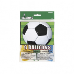 Μπαλόνια λάτεξ με θέμα ποδόσφαιρο 8τεμ