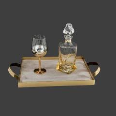 Σετ Γάμου Κουμπάρου μελί με χρυσά στοιχεία