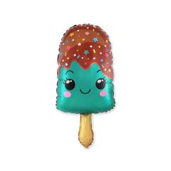 Μπαλόνι φόιλ χαρούμενο παγωτάκι ξυλάκι 61εκ