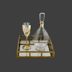 Σετ Γάμου Κουμπάρου με μεταλλικό χρυσό λαιμό