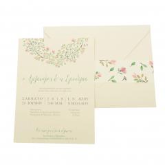 Προσκλητήρια Γάμου MyMastoras Ellery D-Style