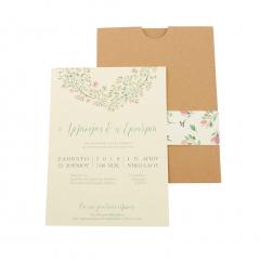 Προσκλητήρια Γάμου MyMastoras Ellery H-Style