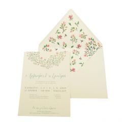 Προσκλητήρια Γάμου MyMastoras Ellery I-Style
