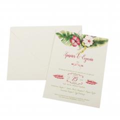 Προσκλητήρια Γάμου MyMastoras Fabron A-Style