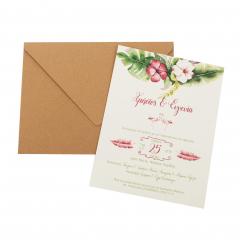 Προσκλητήρια Γάμου MyMastoras Fabron B-Style
