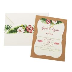 Προσκλητήρια Γάμου MyMastoras Fabron E-Style