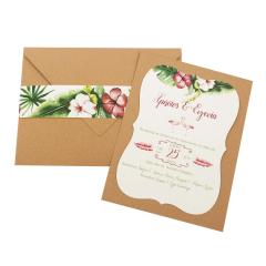 Προσκλητήρια Γάμου MyMastoras Fabron F-Style