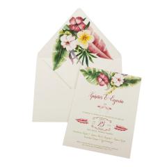 Προσκλητήρια Γάμου MyMastoras Fabron I-Style