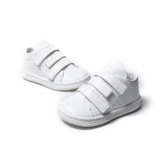 Sneakers με τριπλή μπαρέτα χρατς Babywaker