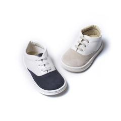 Δίχρωμα δετά sneaker βάπτισης Babywaker
