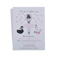 Προσκλητήρια Βάπτισης MyMastoras® – Prima Ballerina N-Style