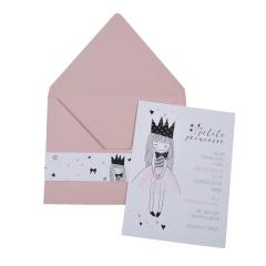 Προσκλητήρια Βάπτισης MyMastoras® – Petit Princesse C-Style