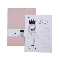 Προσκλητήρια Βάπτισης MyMastoras® – Petit Princesse G-Style