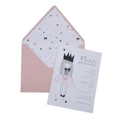 Προσκλητήρια Βάπτισης MyMastoras® – Petit Princesse I-Style