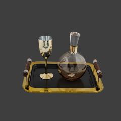 Σετ Γάμου Κουμπάρου χρυσό με σαμπανιζέ λεπτομέρεια