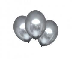Μπαλόνια λάτεξ Satin Luxe Platinum 10τεμ.