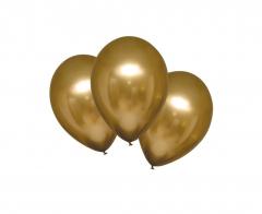 Μπαλόνια λάτεξ 28εκ. Satin Luxe Gold 10τεμ.