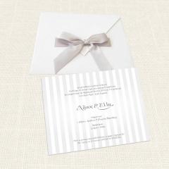 Προσκλητήρια Γάμου Mymastoras Stripes