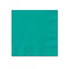 Χαρτοπετσέτες σε τυρκουάζ χρώμα