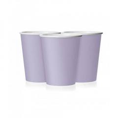 Ποτήρι χάρτινο σε λιλά χρώμα 9 εκ