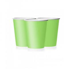 Ποτήρι χάρτινο σε λαχανί χρώμα 9 εκ