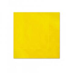 Χαρτοπετσέτες σε κίτρινο χρώμα