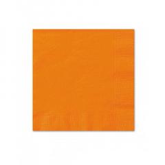 Χαρτοπετσέτες σε πορτοκαλί χρώμα