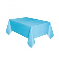 Πλαστικό τραπεζομάντηλο γαλάζιο