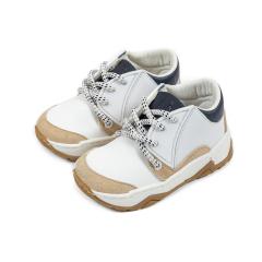 Τρίχρωμο δετό sneaker Babywalker