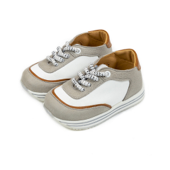 Δίχρωμο δετό sneaker εταιρείας Babywalker
