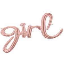 Μπαλόνι λέξη Girl ροζ χρυσό 73x76εκ.