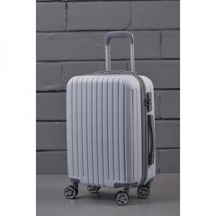 Βαλίτσα τρόλεϊ λευκή ματ