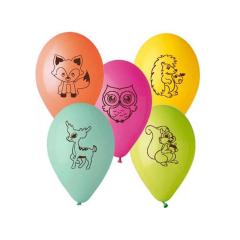 Μπαλόνι Ζωάκια του δάσους (5τεμ)