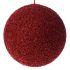 Χριστουγεννιάτικη μπάλα κόκκινη με στρας Φ15