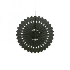 Διακοσμητική βεντάλια σε μαύρο χρώμα