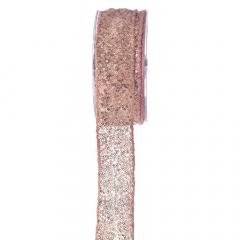 Κορδέλα Shiny Rings ροζ 4.3εκ.x4.5μ.