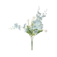 Μπουκέτο με γαλάζια άνθη