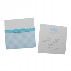 Προσκλητήρια Βάπτισης MyMastoras® – Blue Crown