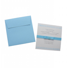 Προσκλητήρια Βάπτισης MyMastoras® – Blue Lines