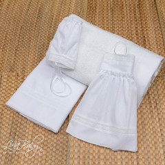 Λαδόπανο βαμβακερό για κορίτσι Elegant Lace