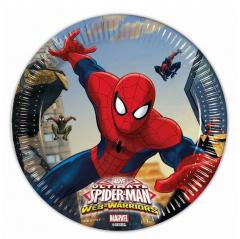 Πιάτα χάρτινα Spider-Man 8τεμ.