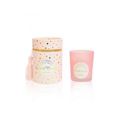 Αρωματικό κερί Ροζ Χρυσό Coconut vanilla