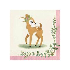 Χαρτοπετσέτες Μεγάλες Deer Little One (16τμχ)