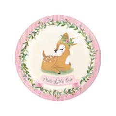 Πιάτα Mεγάλα Deer Little One (8τμχ)