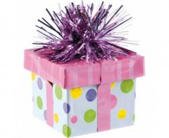 Βαρίδι για μπαλόνια κουτάκι δώρου