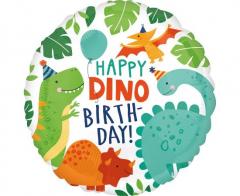 Μπαλόνι φοιλ Happy Dino Birthday 46εκ.